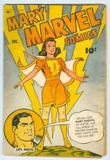 Marvel Comics Mary Marvel